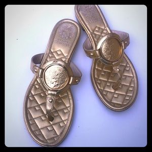 Vince Camino Gold Sandals